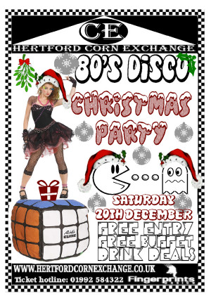 80s Christmas Party Disco
