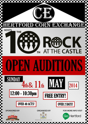 Rock at the Castle Live Auditions