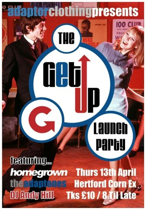 The Get Up & Launch Party