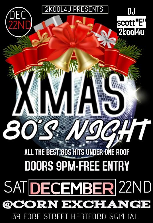 80s Christmas Disco